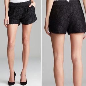NEW DVF Lace Embroidered Shorts 2